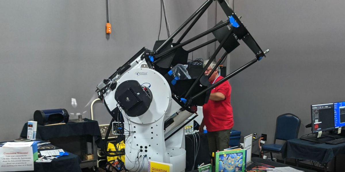UH Hilo holds virtual open house on proposed 28-inch Mauna Kea telescope