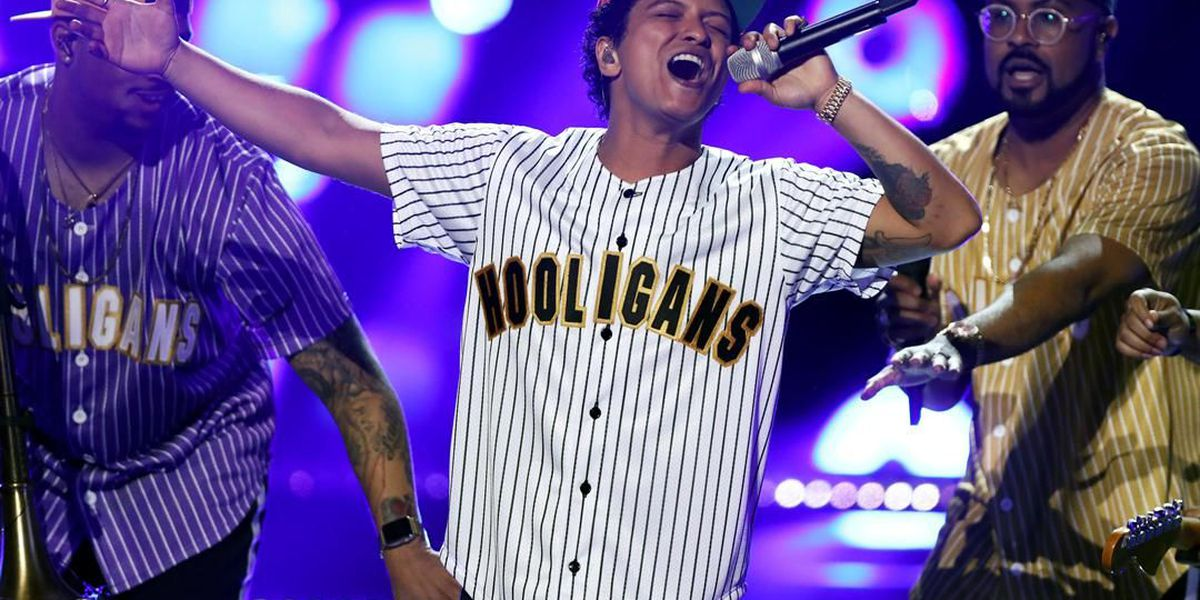 Bruno Mars dominates in American Music Awards nominations