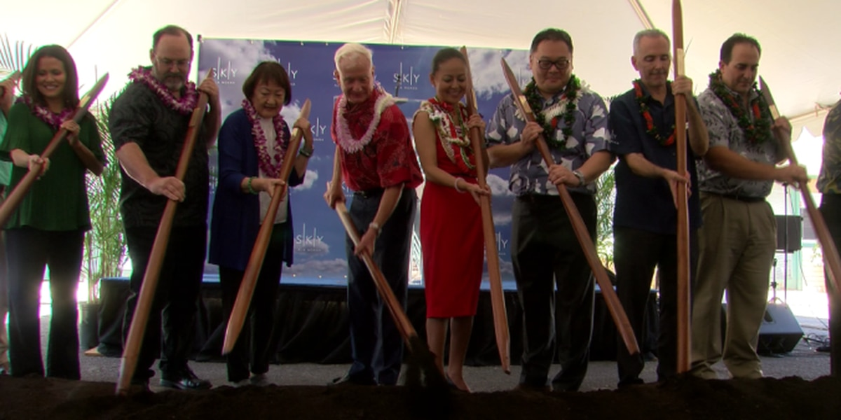 Groundbreaking held for transit-oriented condo-hotel near Ala Moana Center