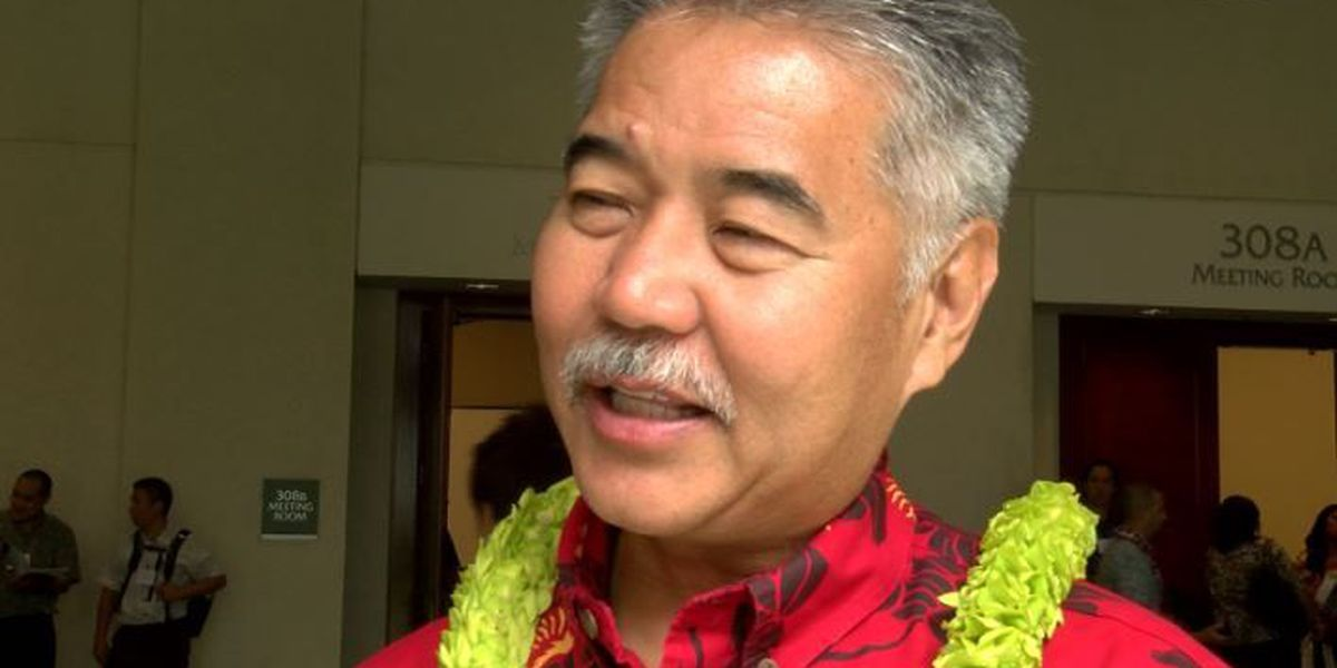 Ige, other governors meet with Trump to talk workforce development