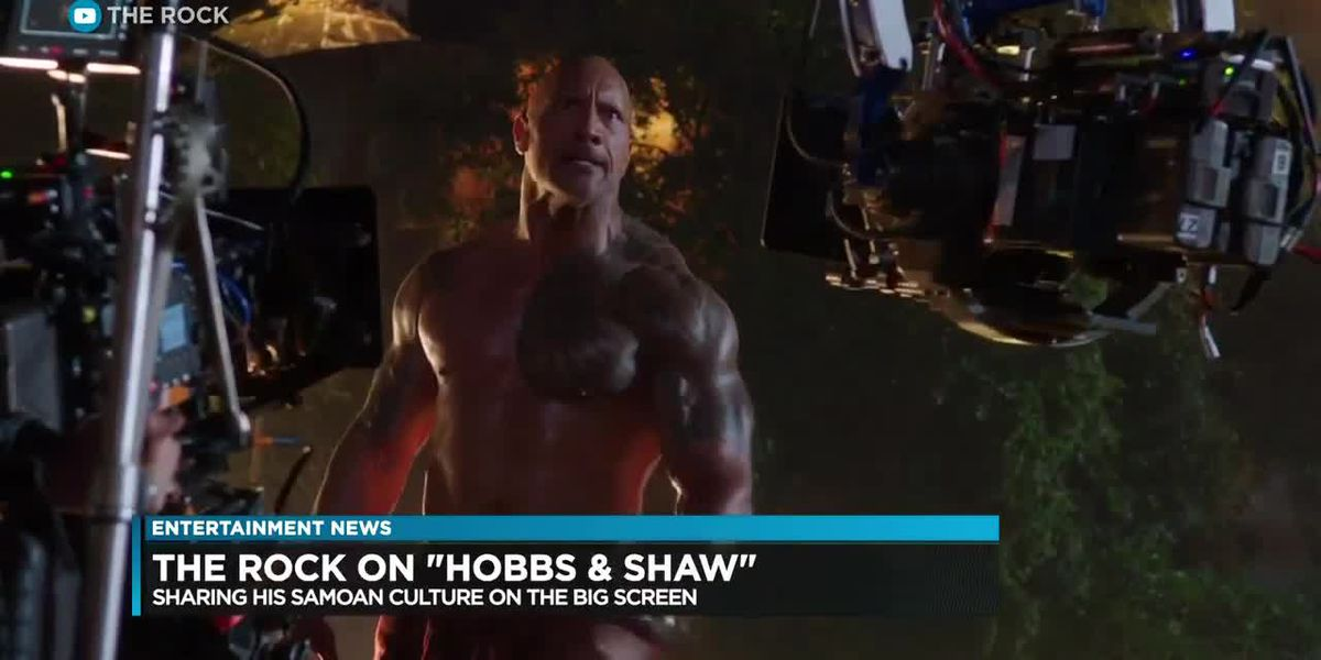 Entertainment: The Rock talks about his culture and his Mom on set