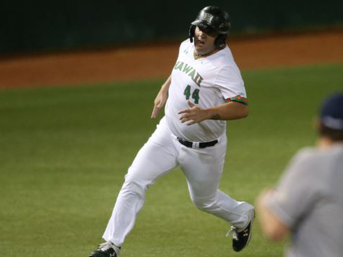 Pouelsen's 11th hour heroics lead Hawaii over Cal State Fullerton