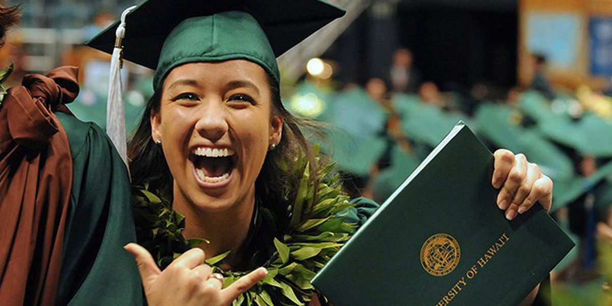 LIST: Here's this year's graduation ceremonies for Hawaii colleges