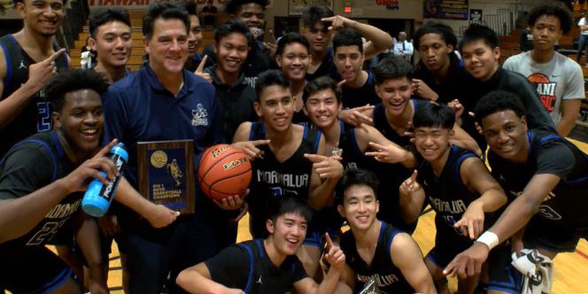 Moanalua survives OT thriller against Kailua, 56-49, to win OIA DI title
