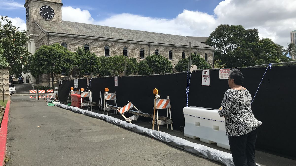 A decade after it started, Kawaiahao Church halts controversial construction project
