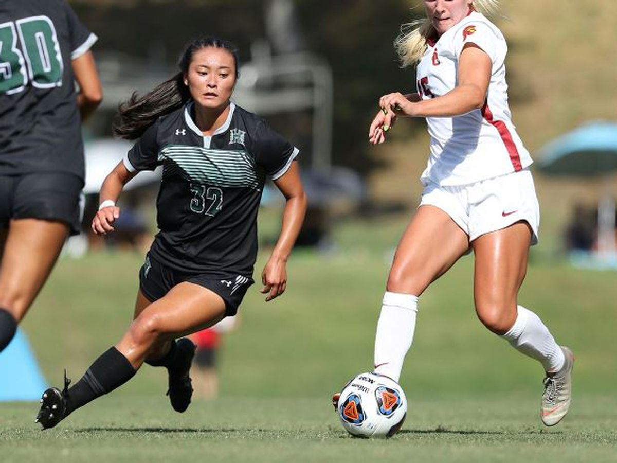 Wahine shutout in season opening loss to USC 3-0