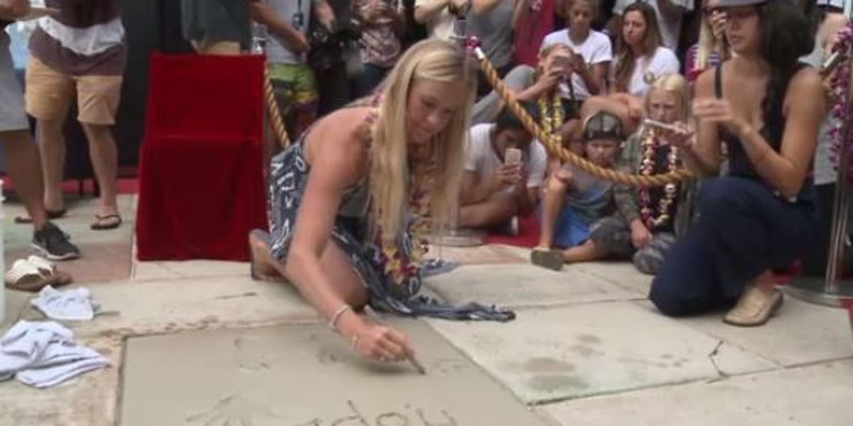 Hawaii's Bethany Hamilton inducted to Surfers' Hall of Fame