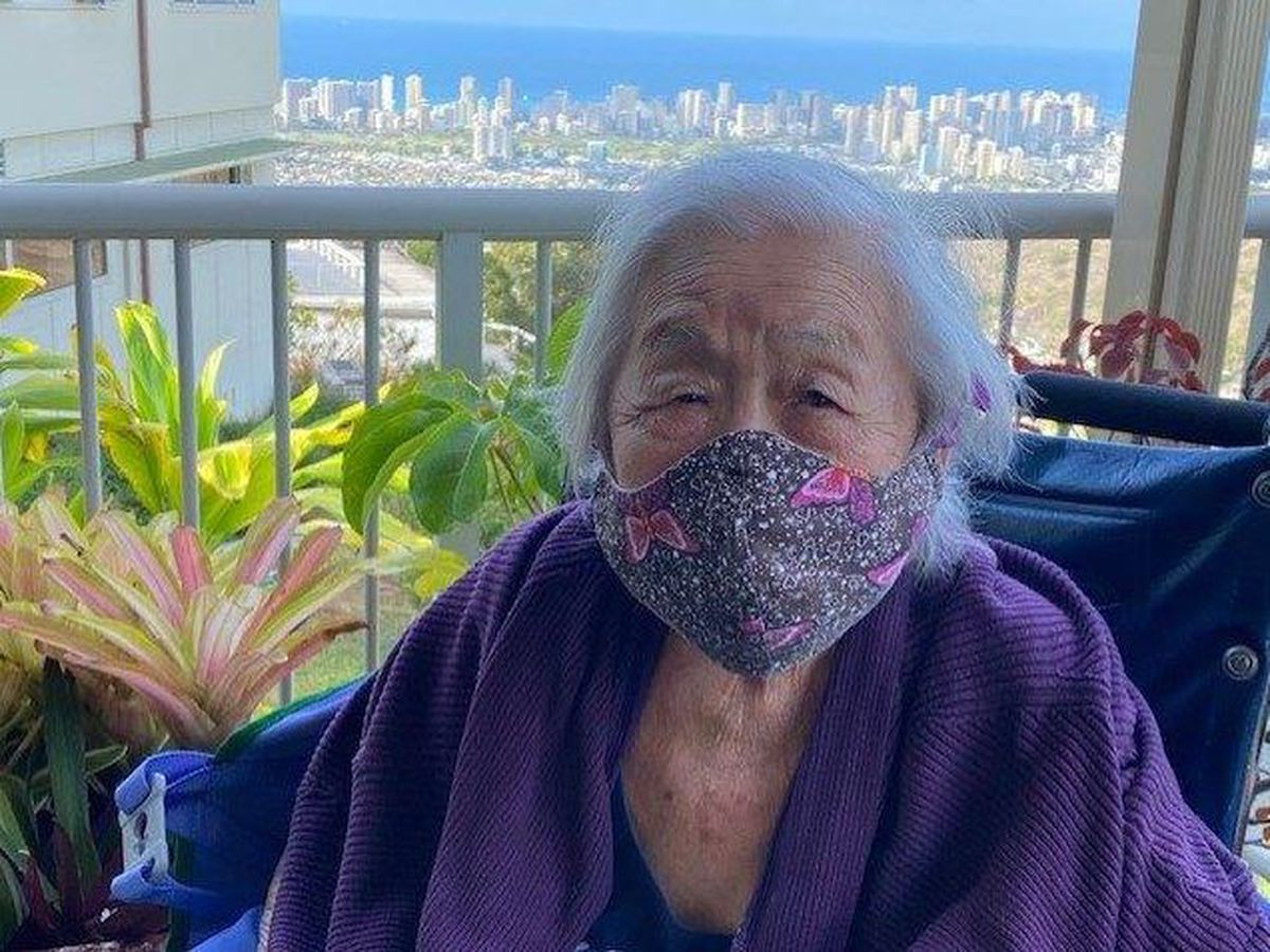 Crediting a life of hard work, a Honolulu woman celebrates her 102nd birthday