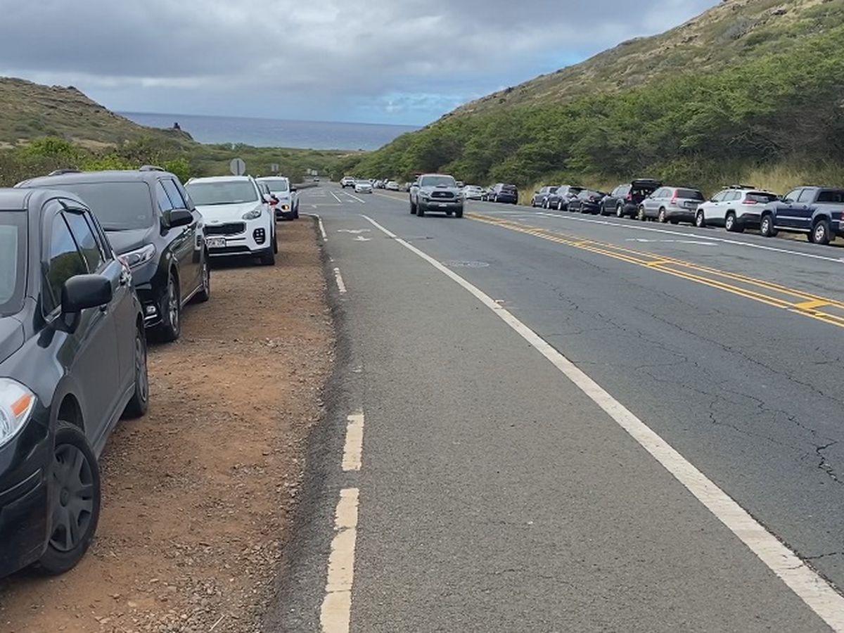 A popular East Oahu trail is open, but its parking lot isn't ...