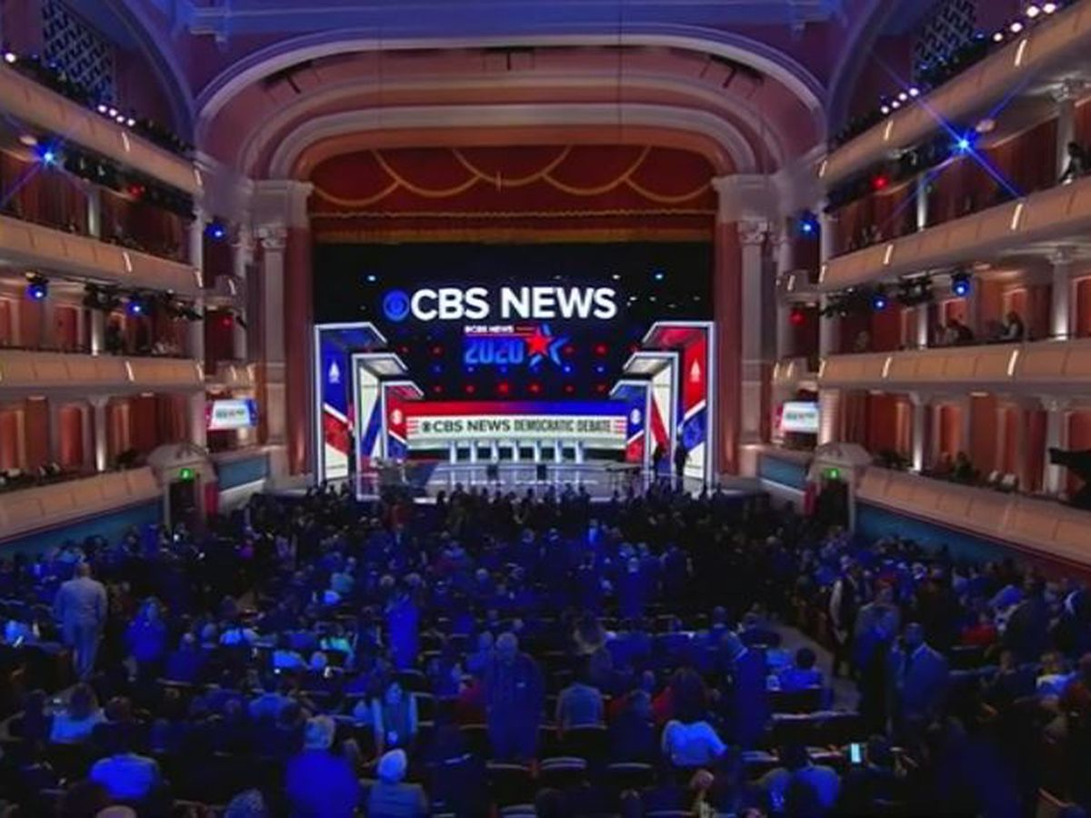 LIVE: Democratic presidential candidates spar in CBS News debate