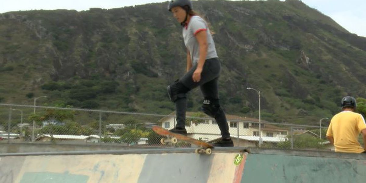 Long and Tamanaha chase Olympic dream on Dew Tour