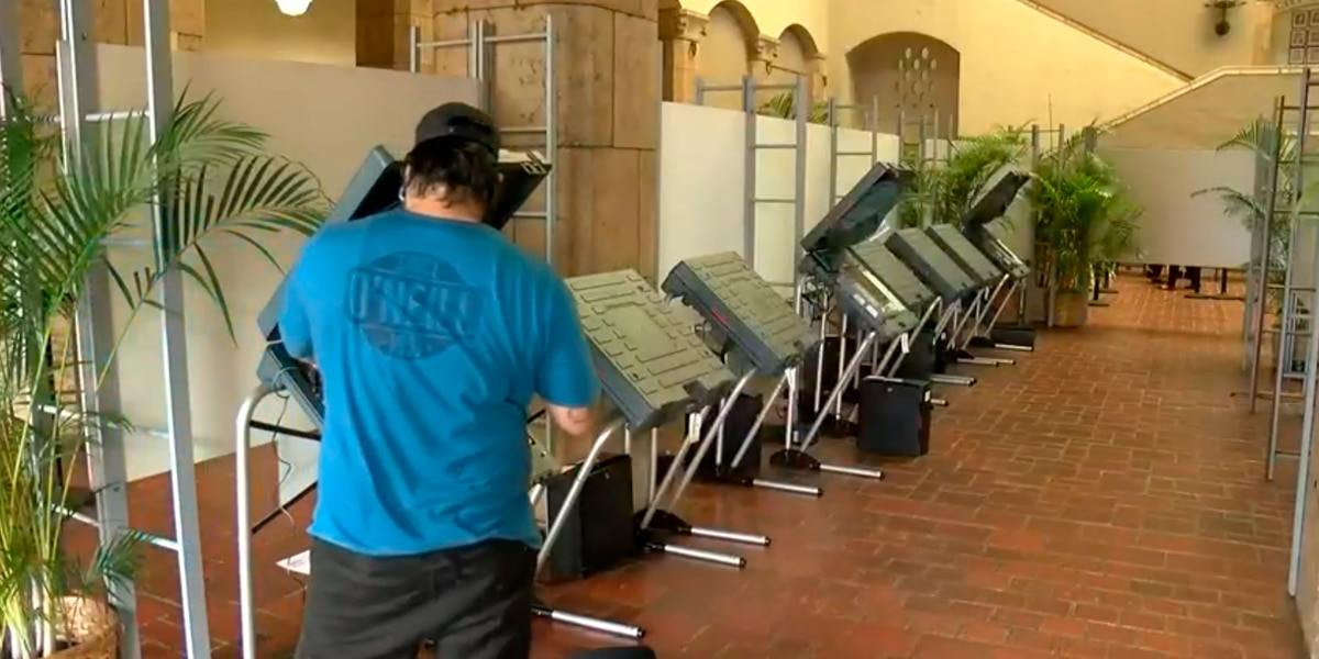 Over 221,000 ballots received prior to opening of voter service centers
