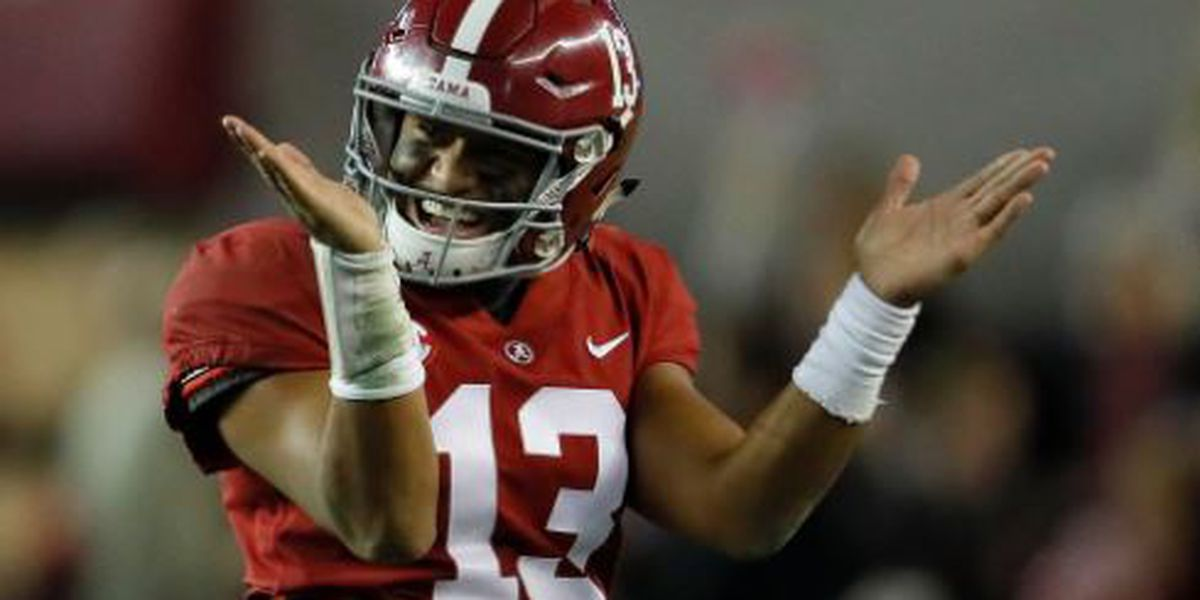 Tagovailoa listed as early favorite for 2019 Heisman Trophy