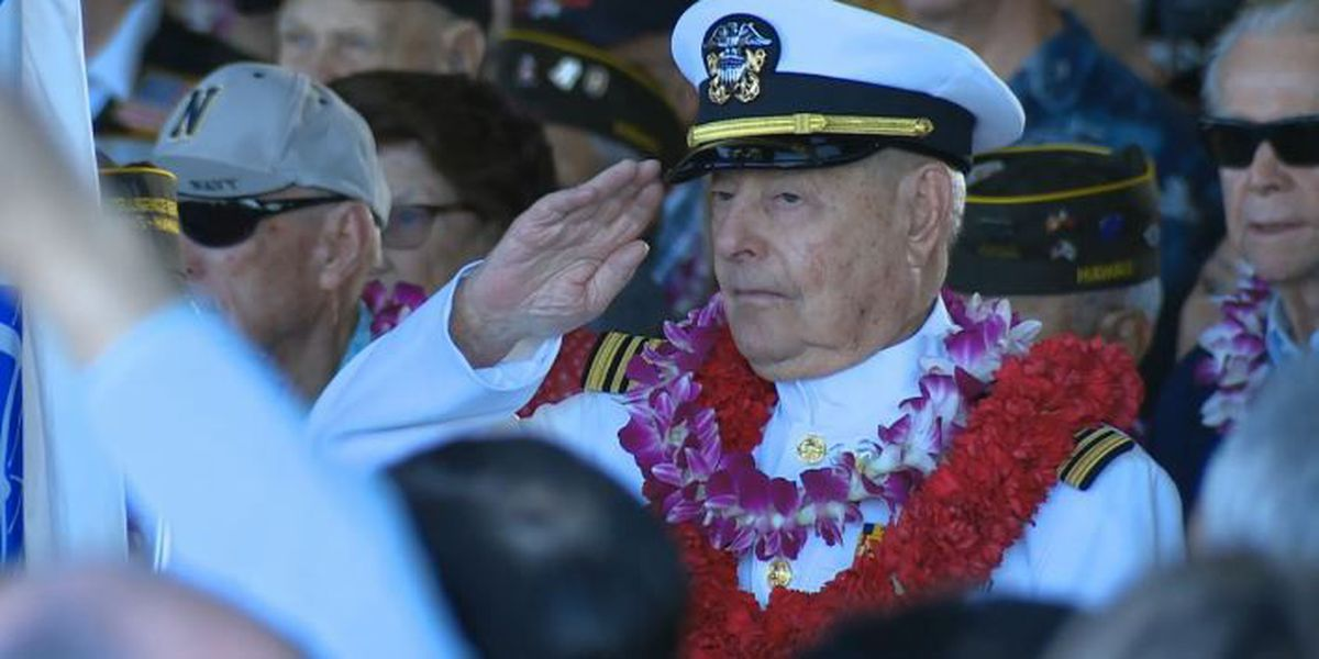 'We remember': Thousands mark 75th anniversary of Pearl Harbor attack