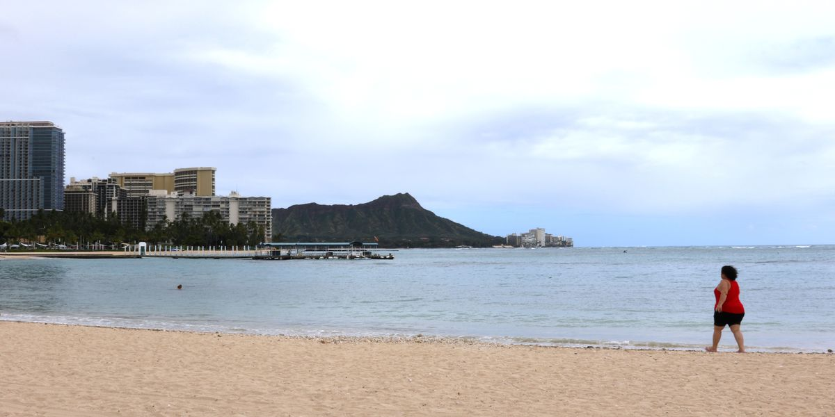 Instead of avoiding Waikiki, residents now find themselves flocking to its shores