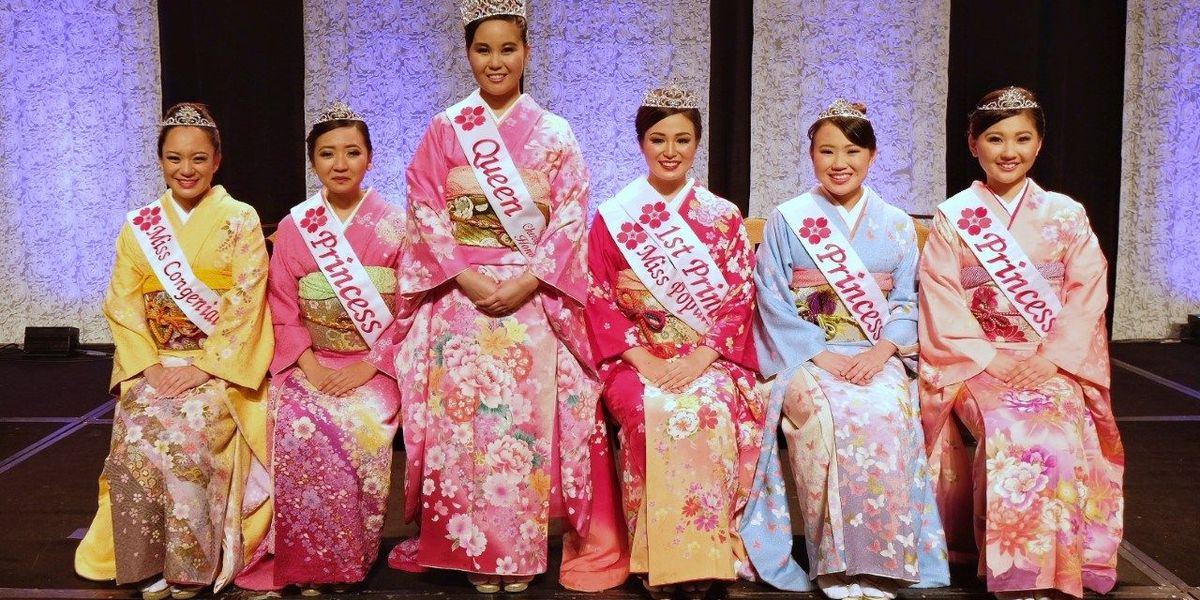 Elementary school teacher crowned 65th Cherry Blossom Festival Queen