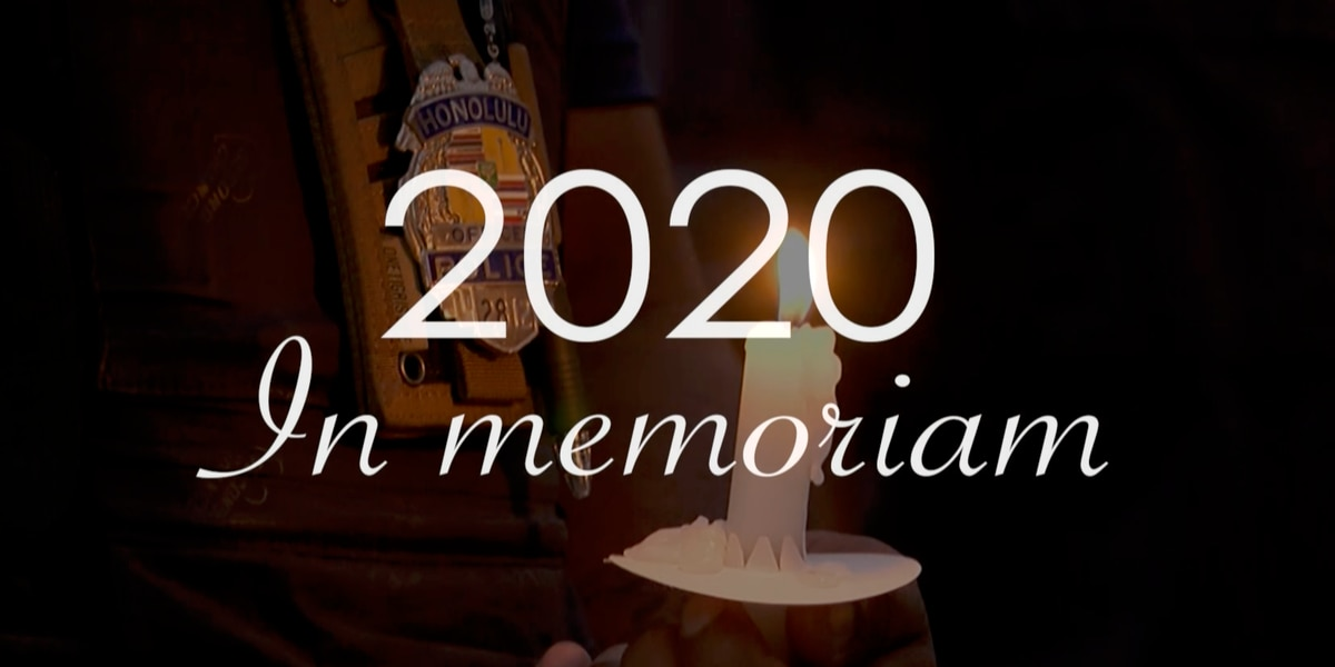 WATCH: 2020 In Memoriam, Hawaii News Now looks back on the notable lives lost