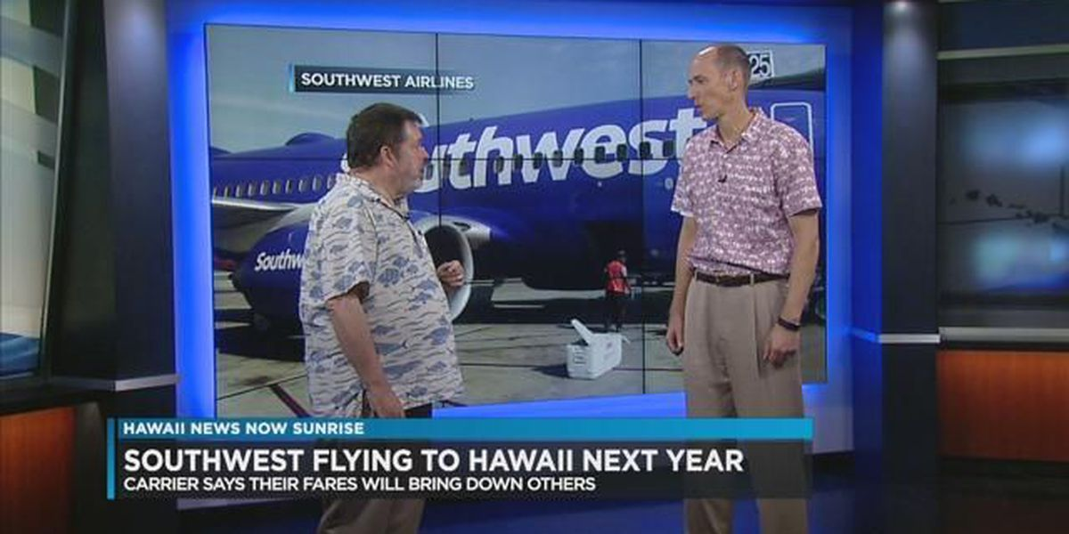 Southwest Airlines intends to serve Hawaiian islands