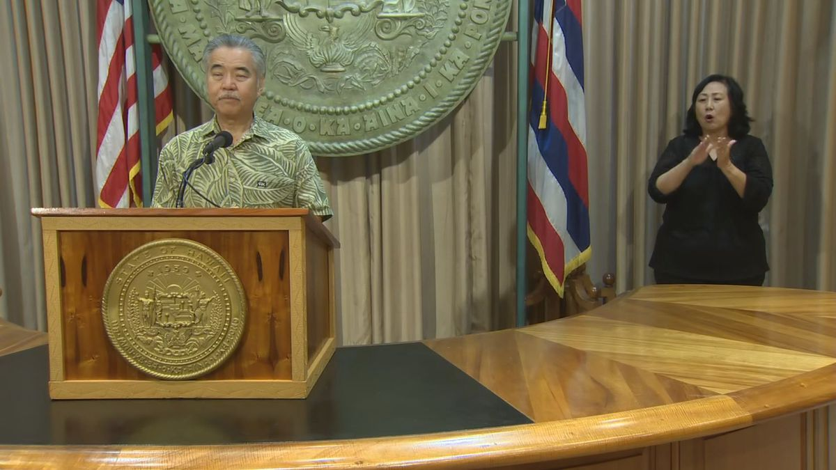 Governor says Hawaii will see 'all of government' response to Douglas