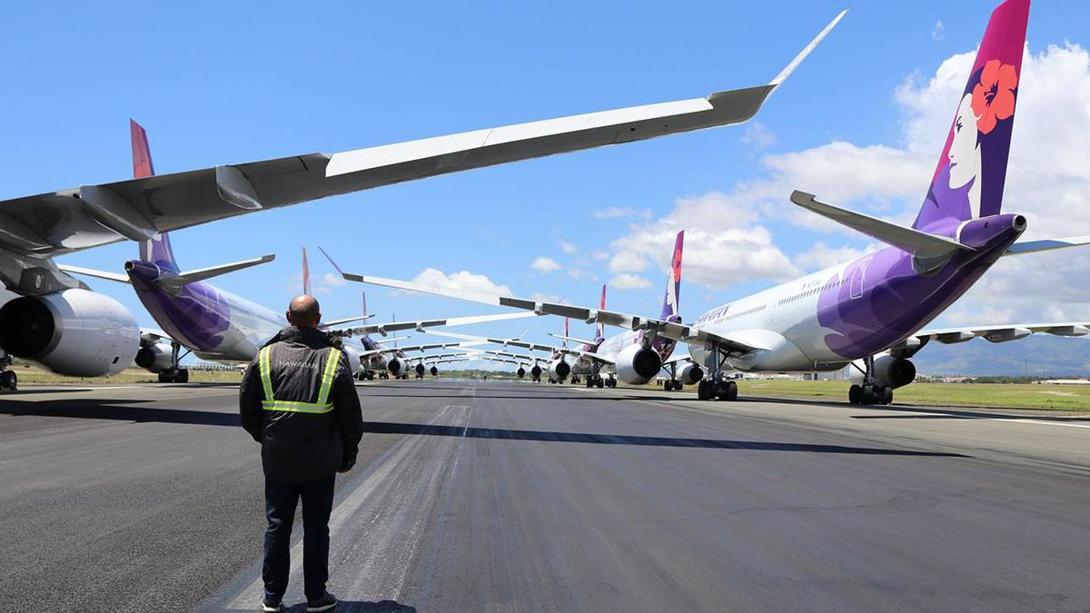 Hawaiian Airlines prepares for layoffs, says it's nowhere near declaring bankruptcy