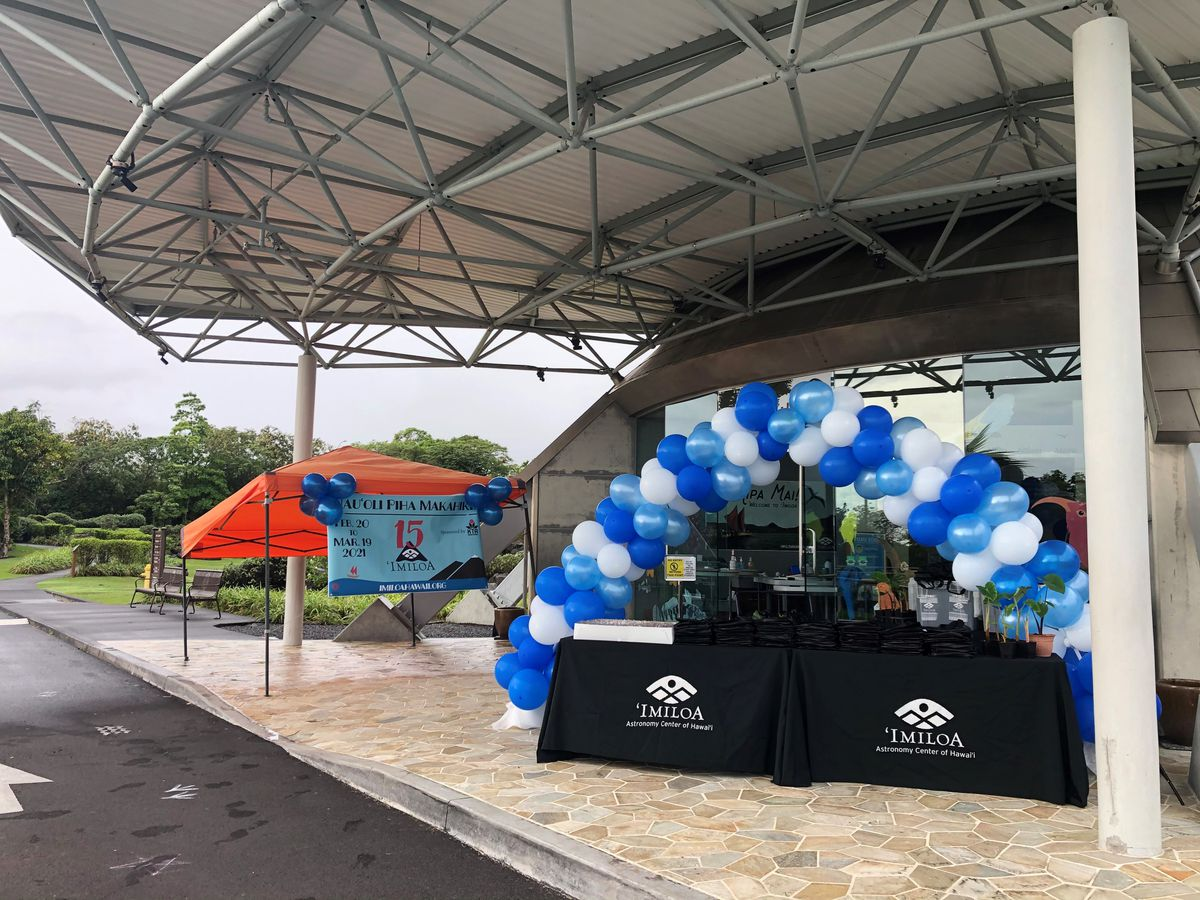 Imiloa Astronomy Center celebrates 15 years with drive-thru giveaway