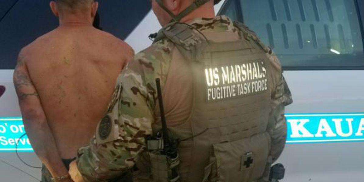 Following manhunt, US Marshals nab fugitive hiding in Kauai woods