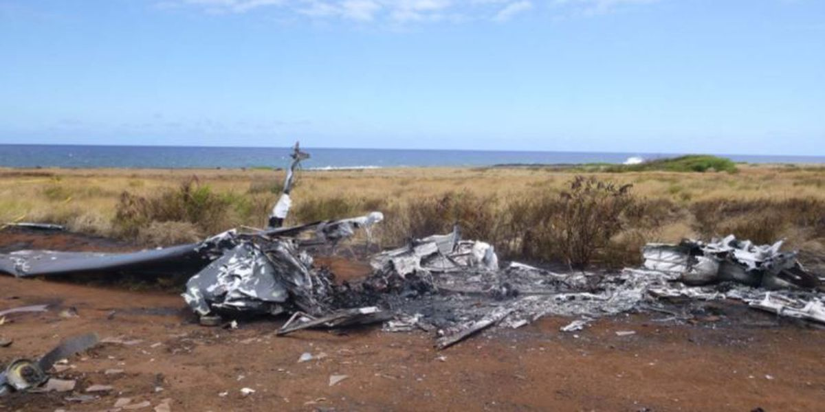 NTSB releases cause of 2016 plane crash on Kauai that killed 5