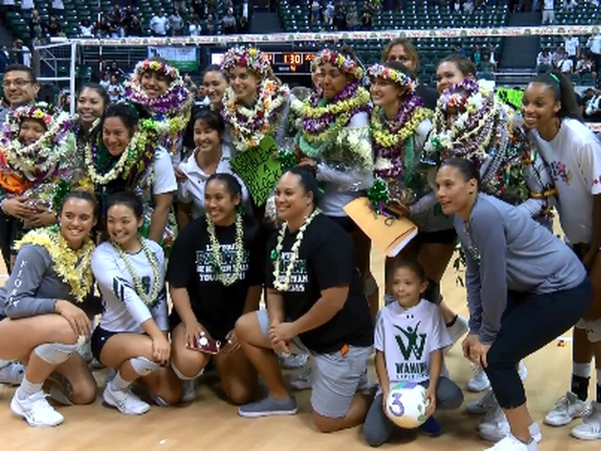 Senior sendoff done right for Wahine
