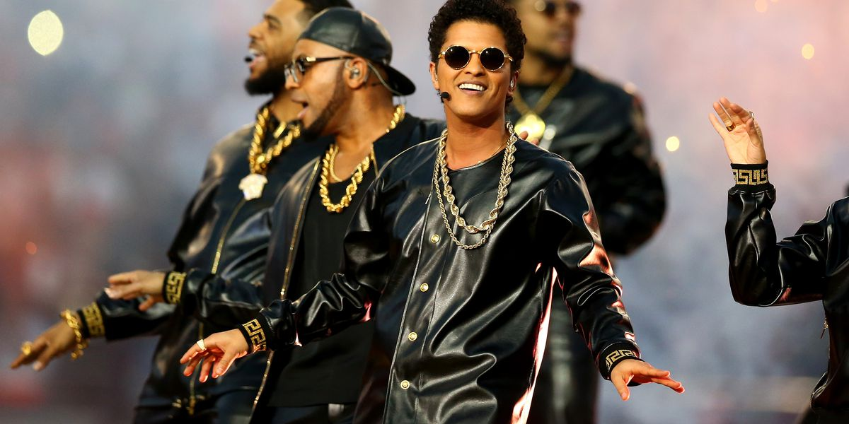 Heading to Bruno Mars this weekend? Bring your rain jacket
