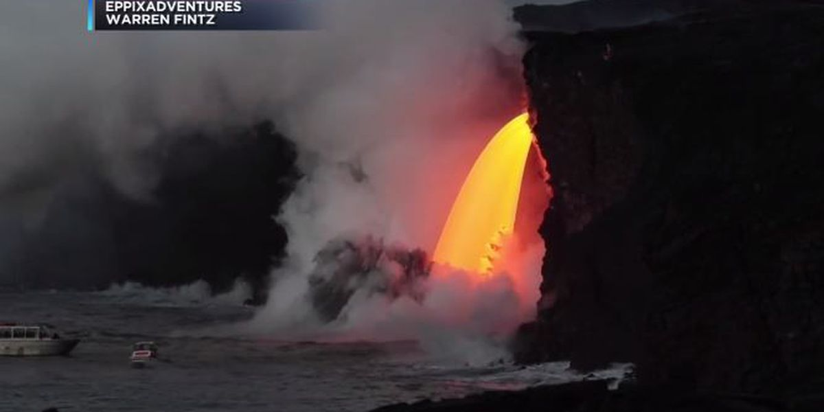 State seeks $10K fine against alleged illegal lava tour operator