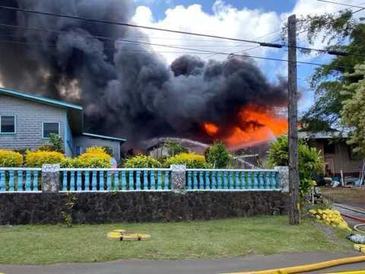 North Kohala home destroyed by fire; damage totaled at $400,000