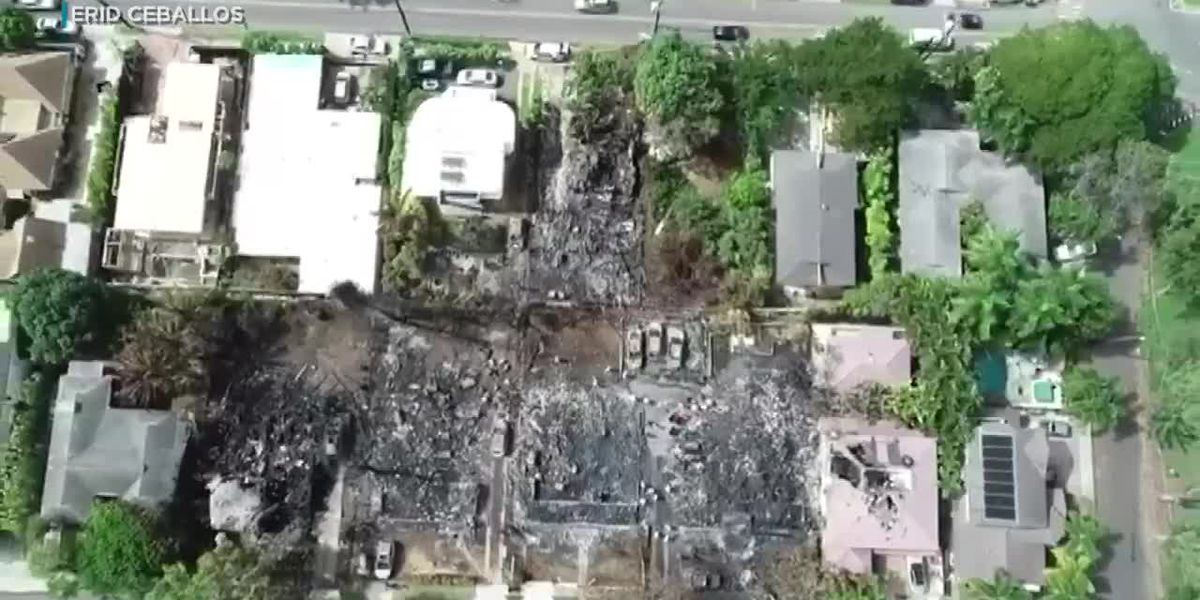 Residents displaced by Diamond Head blaze say they don't know when they'll be able to return