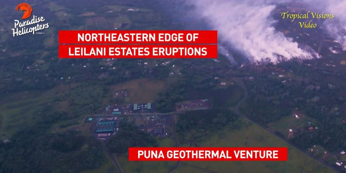 Crews remove pentane gas from Puna geothermal plant amid safety concerns