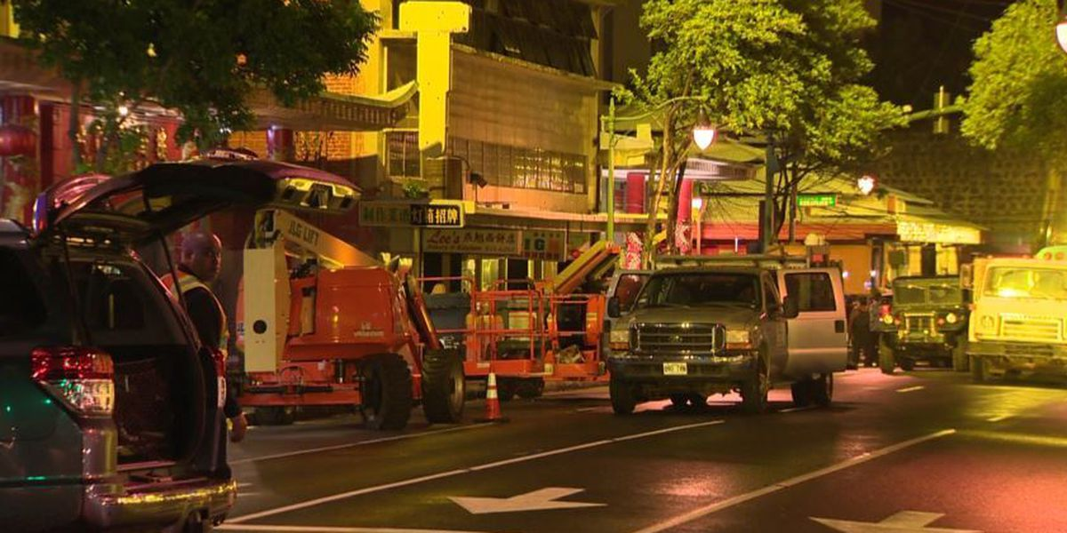 King Street reopens as Hawaii filming of new 'King Kong' movie wraps up