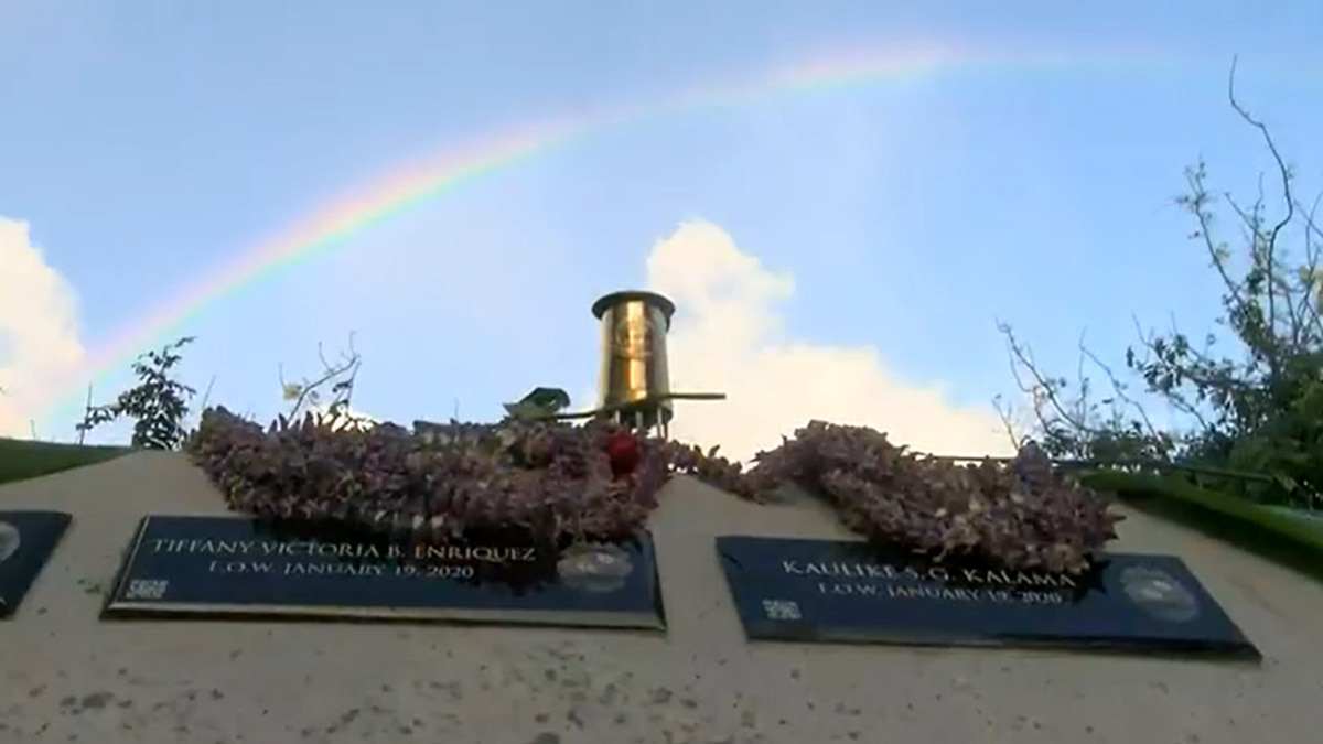 Plaques for fallen officers, agent installed at Hawaii Law Enforcement Memorial