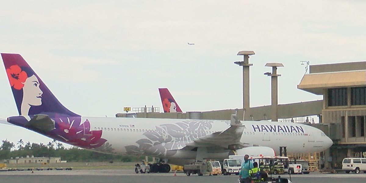 Hawaiian Airlines records top flight punctuality in US