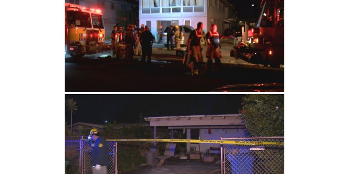 HFD says 2 house fires on Oahu were intentionally set; police investigating