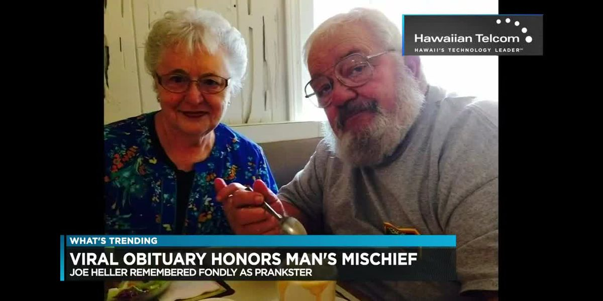 What's Trending: Obituary honors man's mischief