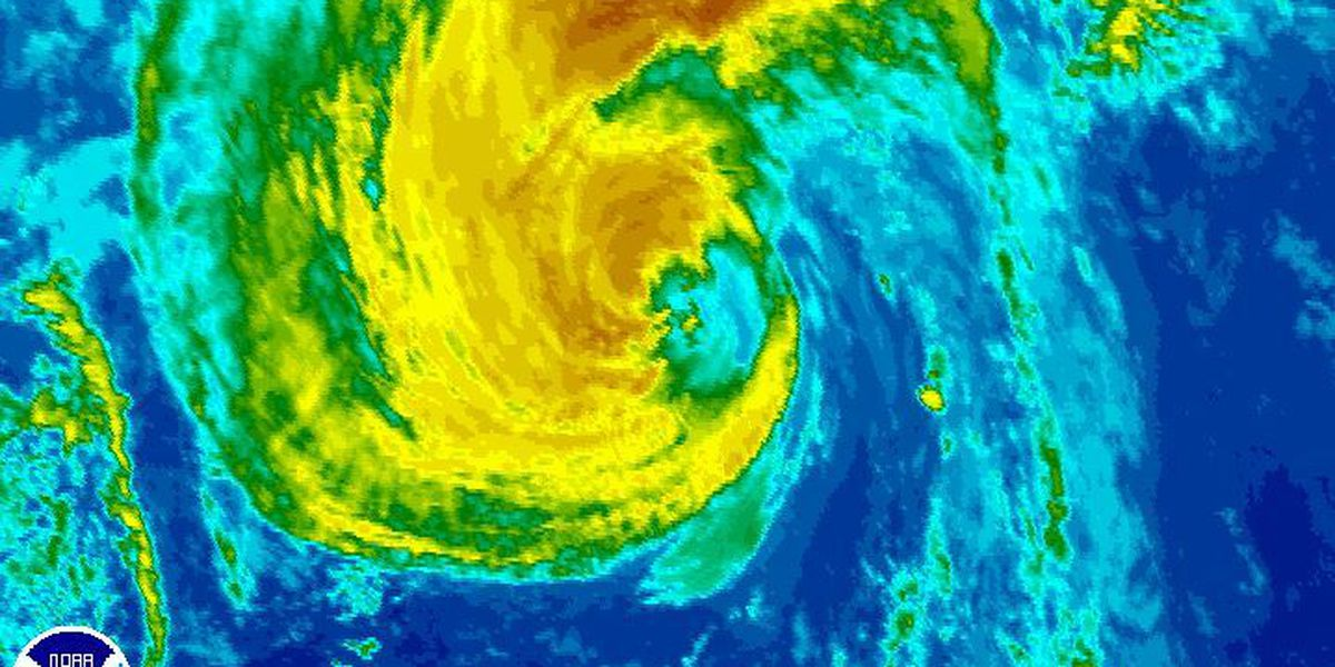 Ignacio now post-tropical cyclone, still packing strong winds far north of Hawaii