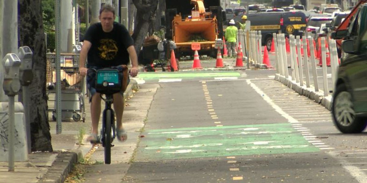 Honolulu is becoming a more bikeable city, but that comes at a price
