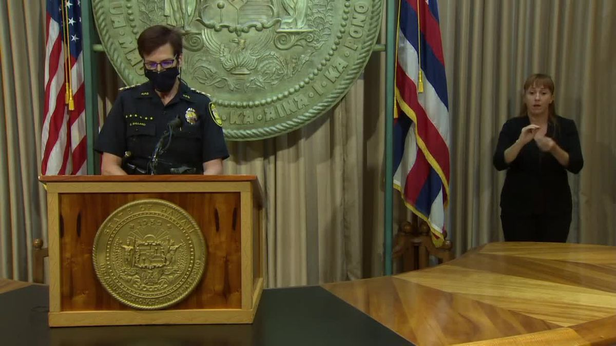 Police chief says her officers will cite, arrest those who ignore emergency orders