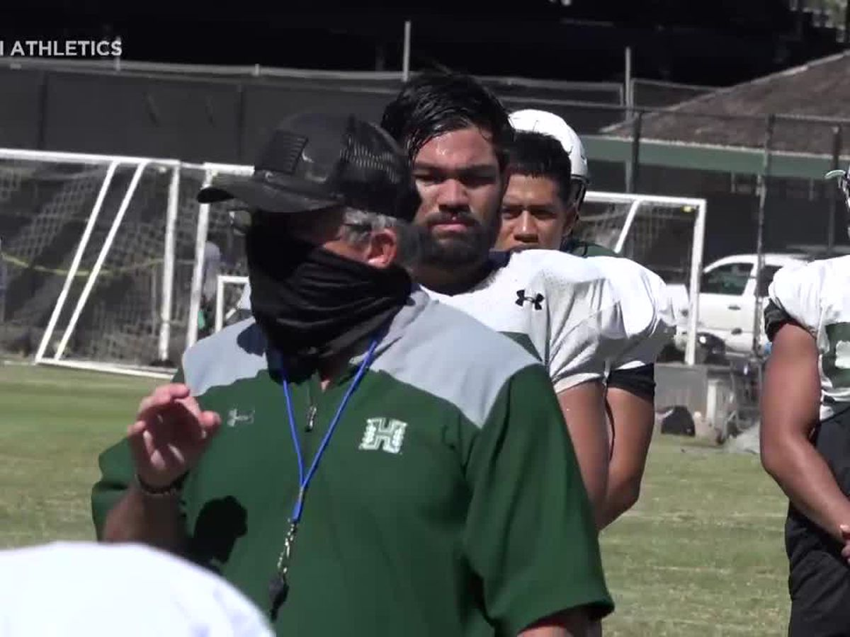 UH football ramps up training camp as the 2020 season gets closer