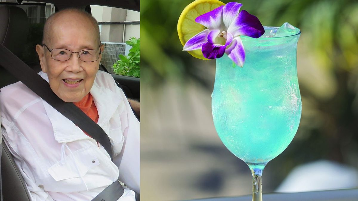 Mastermind behind the iconic 'Blue Hawaii' cocktail turns 102