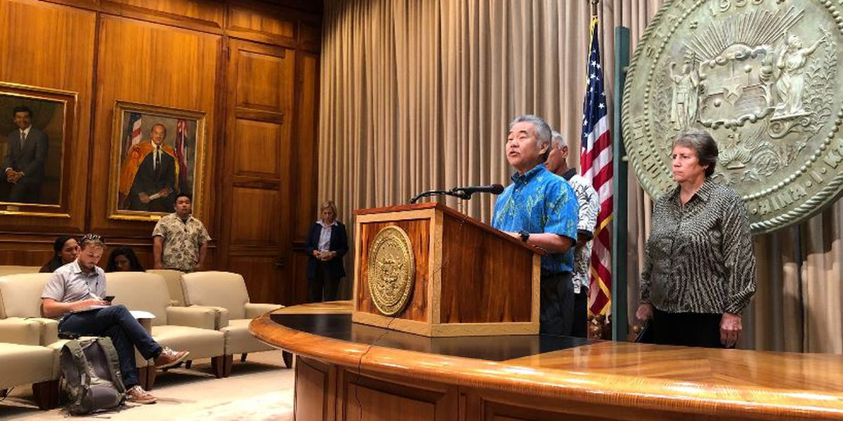 As TMT protest drags on, governor plans news conference on Mauna Kea