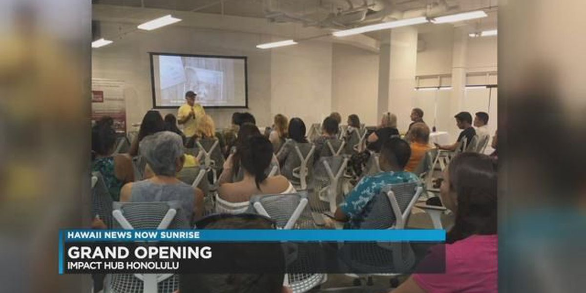 Impact Hub brings co-working and community space to Honolulu