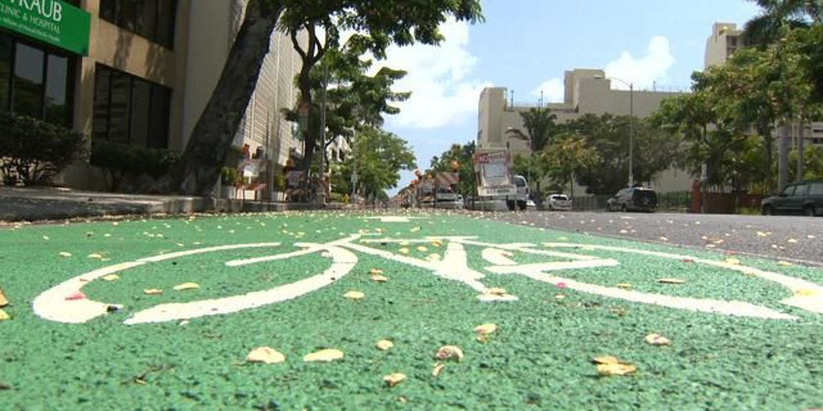 Positive study results propel city plans for bike lanes in Kailua