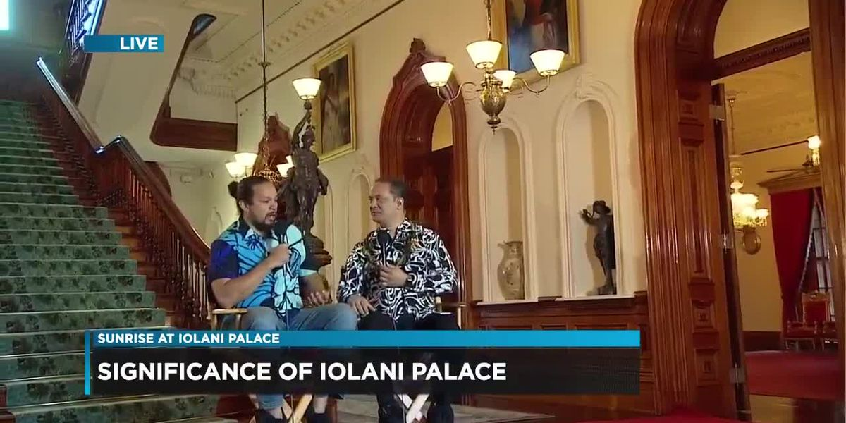 Cultural specialist talks about the significance of Iolani Palace