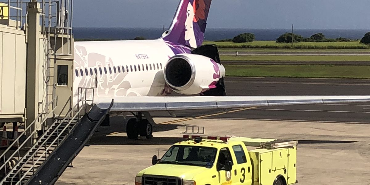 'Engine malfunction' mid-takeoff forces Hawaiian Airlines flight cancellation