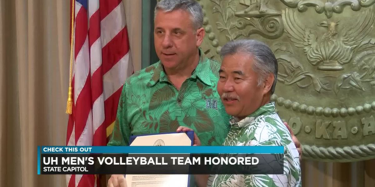 Warrior volleyball honored at State Capitol