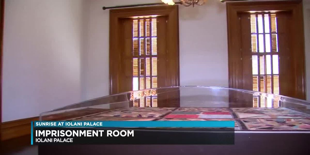 Inside Iolani Palace's cruelly-named the 'Imprisonment Room'